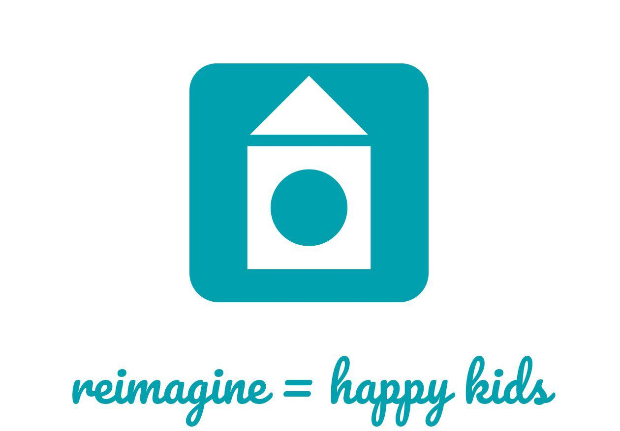 reimagine equals happy kids logo